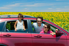 Free Family Vacation, Car Trip Royalty Free Stock Photography - 21328747