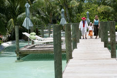 Family vacation in Florida Stock Photos