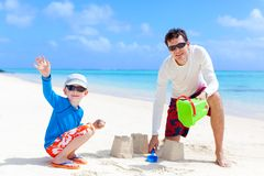 Family at vacation Royalty Free Stock Images