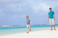 Family at vacation Royalty Free Stock Photography