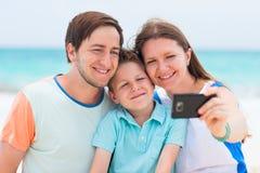 Family vacation portrait Stock Photo