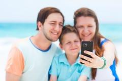 Family vacation portrait Royalty Free Stock Photo