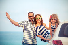 Family on vacation Stock Photos