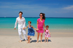 Family vacation in Thailand Royalty Free Stock Photography