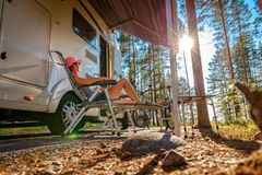 Free Family Vacation Travel RV, Holiday Trip In Motorhome Royalty Free Stock Photography - 155125677