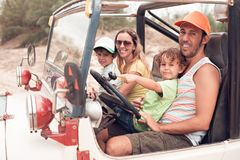 Family vacation Royalty Free Stock Photos