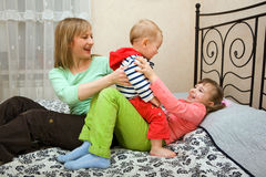 Family values Stock Photos