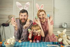 Family values, childhood, art. royalty free stock photography