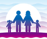 A Family Royalty Free Stock Images