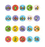 Family Vector Icons 5 vector illustration