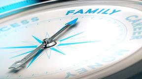 Family Versus Career Royalty Free Stock Images