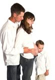Family waiting for baby Stock Photos