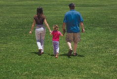 Free Family Walk Royalty Free Stock Photos - 1753368