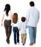 Family walking together Stock Photo