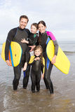 Family Watersports Stock Image