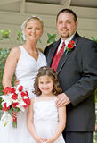 Family on Wedding Day Royalty Free Stock Photos