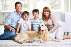 Family weekend Royalty Free Stock Photography