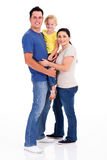 Family on white Royalty Free Stock Photography