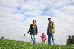 Family With Baby Royalty Free Stock Photo