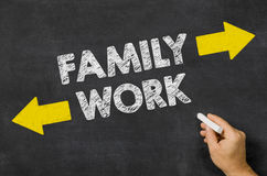 Family or Work Stock Images