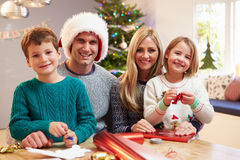 Image result for family wrapping gifts
