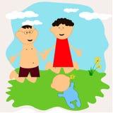 Family1 Fotografia Stock Libera da Diritti
