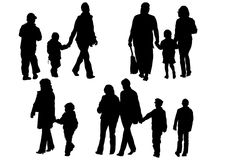 Familys Royalty Free Stock Images