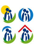 Familysymbol.eps Royalty Free Stock Image