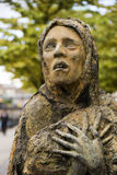 The Famine Memorial in Dublin Royalty Free Stock Images