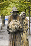 The Famine Memorial in Dublin Royalty Free Stock Photos