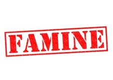 FAMINE Stock Image