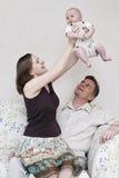 Famiy heureux Photo stock
