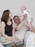 Famiy heureux Image libre de droits