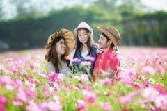 Família asiática Fotos de Stock