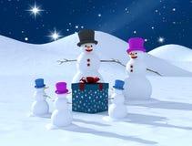 Família da reunião do divertimento. Imagens de Stock Royalty Free