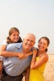 Família de três Imagem de Stock Royalty Free