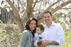 Família encantadora Imagens de Stock