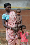Família tribal Imagens de Stock