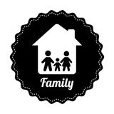 Famly home design Stock Photography