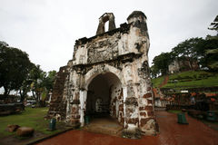 A' Famosa. Historical Portuguese A' Famosa in Malacca Stock Image