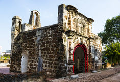 A Famosa fort in Malacca Stock Photos