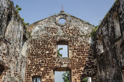 A Famosa Fort Ruins on St Paul Hill Stock Photos