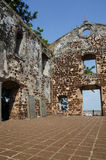 A Famosa Fort Ruins on St Paul Hill Royalty Free Stock Photo
