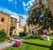 Famoso Basílica di San Vitale em Ravenna, Itália imagem de stock royalty free