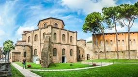 Famoso Basílica di San Vitale em Ravenna, Itália foto de stock royalty free