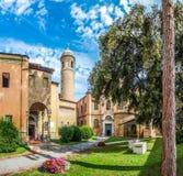 Famoso Basílica di San Vitale em Ravenna, Itália imagem de stock