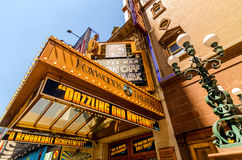 Famoso do teatro na 42nd rua Foto de Stock Royalty Free