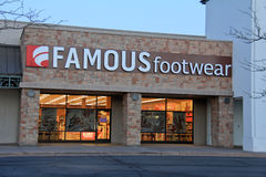 Famour Footwear store Stock Photos