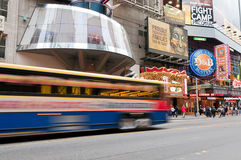 Famous 42nd Street in New York City Royalty Free Stock Image