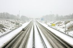 The famous A9 near Amsterdam Netherlands Royalty Free Stock Photography